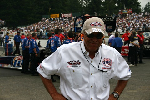 "Don ""The Snake"" Prudhomme with his ever present toothpick (Seattle, 2004)"