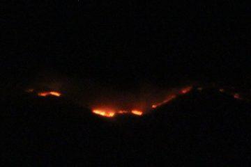 Antelope Island Fire